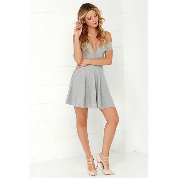 4dee6371266 Lulu s Dresses   Skirts - Lulus Sensational Anthem Off The Shoulder Dress